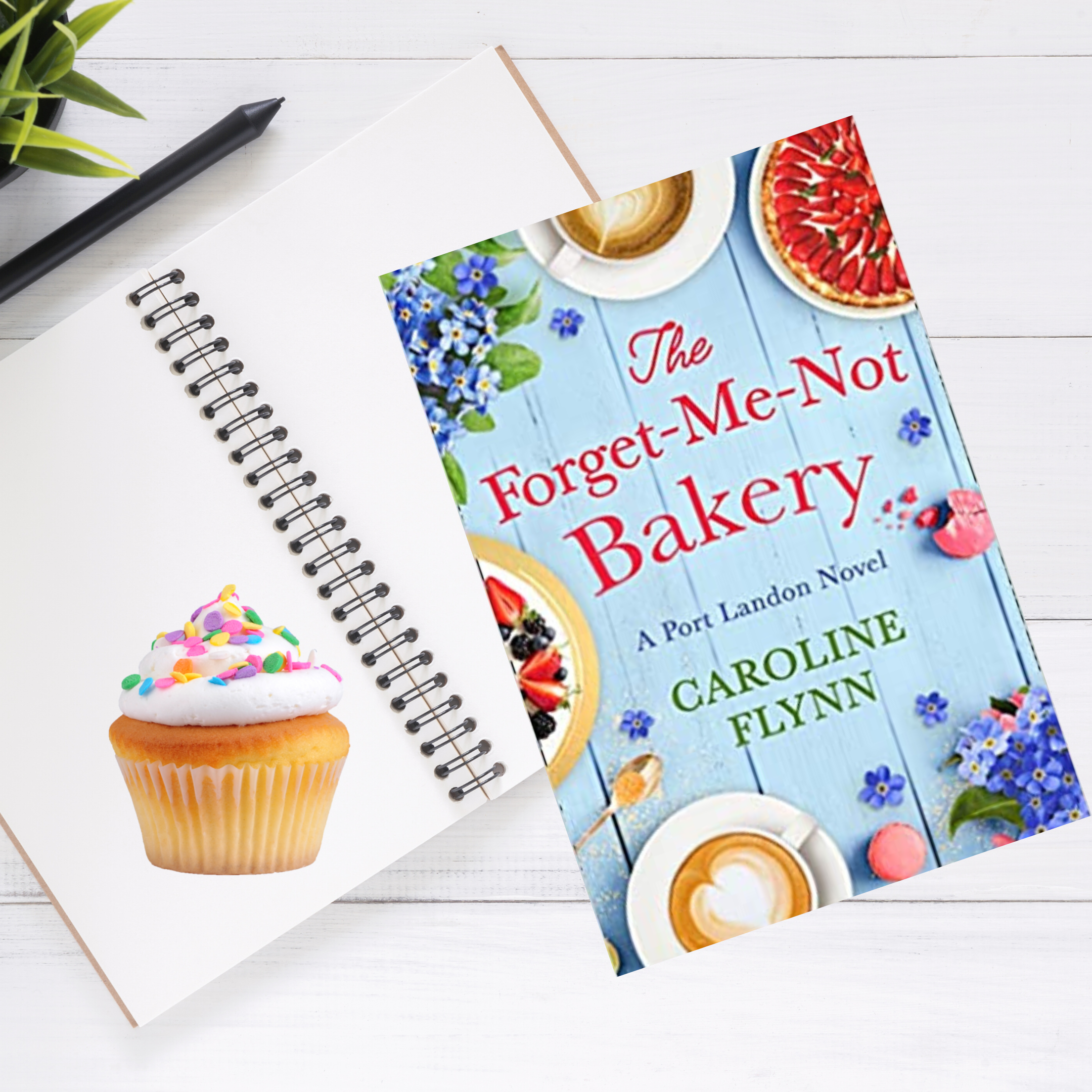 THE FORGET-ME-NOT BAKERY by Caroline Flynn